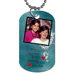 Suzie And I Dog Tag By Jolene   Dog Tag (two Sides)   U31w2k6q6chd   Www Artscow Com Back