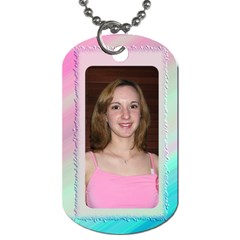 My Two Sides (2 Sided) Dog Tag By Deborah   Dog Tag (two Sides)   Wwjrbuhnxccm   Www Artscow Com Front
