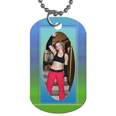 My Two Sides (2 Sided) Dog Tag By Deborah   Dog Tag (two Sides)   Wwjrbuhnxccm   Www Artscow Com Back