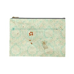 Cosmetic Bag 03 By Deca   Cosmetic Bag (large)   P71hg4c8nxrg   Www Artscow Com Front