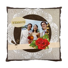 Wedding By Joely   Standard Cushion Case (two Sides)   Ek5ncitsn3nh   Www Artscow Com Back