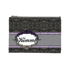 Kimmi Large Cosmetic Bag By Klh   Cosmetic Bag (large)   Tbut1g1ir6j2   Www Artscow Com Front