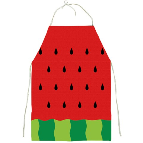Fruit  By Clince   Full Print Apron   6nrofrd5w8qe   Www Artscow Com Front