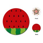 Fruit  - Playing Cards (Round)