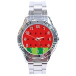 Fruit  - Stainless Steel Analogue Watch