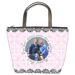 True Love Stories Bucket Bag By Klh   Bucket Bag   Illp6vk0bips   Www Artscow Com Front