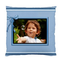 Pretty Blue Cushion (2 Sided) By Deborah   Standard Cushion Case (two Sides)   Ip61uzay0yax   Www Artscow Com Front