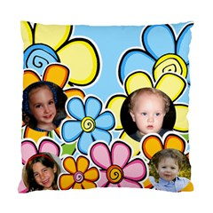 Flower Children Cushion (2 Sided) By Deborah   Standard Cushion Case (two Sides)   A6sdnoo57dg2   Www Artscow Com Back