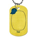 Dad tag02 - Dog Tag (One Side)