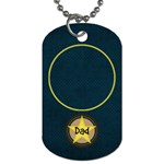 Dad tag03 - Dog Tag (One Side)