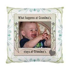 Grandma s 2 Sided Cushion Case By Lil    Standard Cushion Case (two Sides)   Xdouzt1jmgdw   Www Artscow Com Front