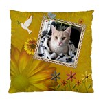 Pretty Yellow Nature 2-Sided Cushion Case - Standard Cushion Case (Two Sides)