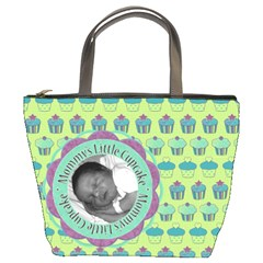 Mommy s Little Cupcake Bucket Bag By Klh   Bucket Bag   An75c9cr102r   Www Artscow Com Front