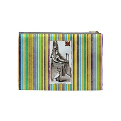 Nile Treasures Queen s Cosmetic Bag By Allison   Cosmetic Bag (medium)   Oqz2uriwh8ds   Www Artscow Com Back