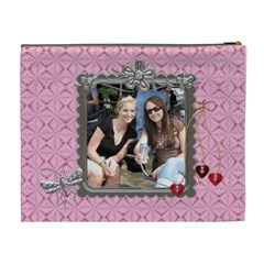 My Friend Xl Cosmetic Bag By Lil    Cosmetic Bag (xl)   484zpte9956h   Www Artscow Com Back