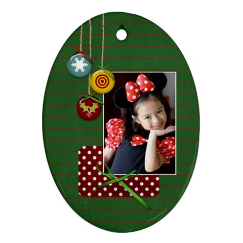 Ornament  Oval3 By Jennyl   Ornament (oval)   Qldhvyioi3kz   Www Artscow Com Front