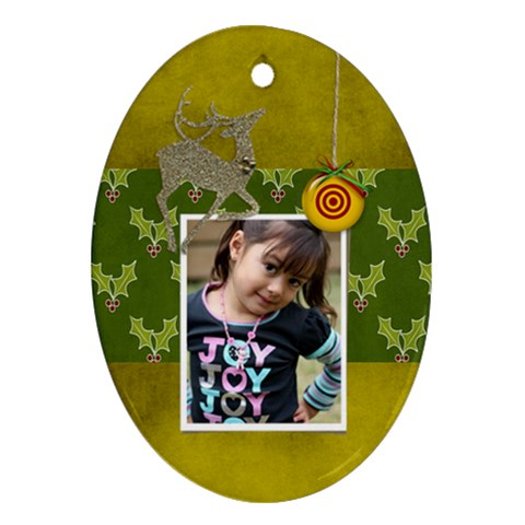 Ornament  Oval4 By Jennyl   Ornament (oval)   Dblhtcojax1z   Www Artscow Com Front