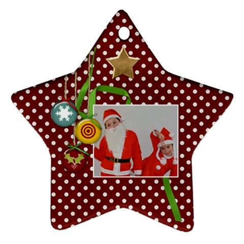 Ornament Star7 By Jennyl   Ornament (star)   Jnbfkmh41a0h   Www Artscow Com Front