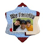my family - Ornament (Snowflake)