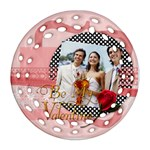 love - Ornament (Round Filigree)
