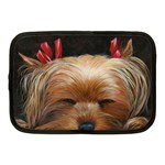 Sleeping Yorkie Painting Scan 300dpi Retouched Copy Netbook Case (Medium)