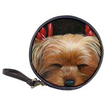Sleeping Yorkie Painting Scan 300dpi Retouched Copy Classic 20-CD Wallet