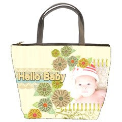 Hello Baby By Joely   Bucket Bag   G194znl3ro43   Www Artscow Com Front