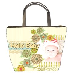 Hello Baby By Joely   Bucket Bag   G194znl3ro43   Www Artscow Com Back