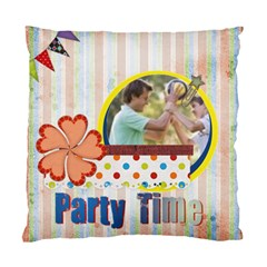 Party Time By Joely   Standard Cushion Case (two Sides)   Sye8p4vnbgjb   Www Artscow Com Front
