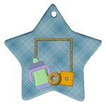 Foodie Star Ornament - Ornament (Star)