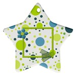 Bluegrass Star Ornament - Ornament (Star)
