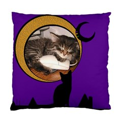 I Love Cats   Cushion By Carmensita   Standard Cushion Case (two Sides)   Q9i7e6e18vvi   Www Artscow Com Front
