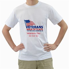 Veterans T Shirt1 By Jerry Perkins   Men s T Shirt (white) (two Sided)   M4z8jqrify8j   Www Artscow Com Front
