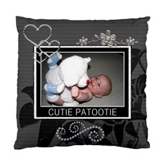 Cutie Patootie 2 Sided Cushion Case By Lil    Standard Cushion Case (two Sides)   Vpuoolddpgrz   Www Artscow Com Front