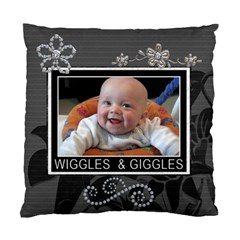 Cutie Patootie 2 Sided Cushion Case By Lil    Standard Cushion Case (two Sides)   Vpuoolddpgrz   Www Artscow Com Back