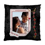 You & Me 2-Sided Cushion Case - Standard Cushion Case (Two Sides)