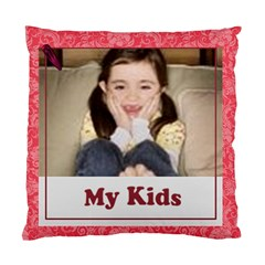 My Kids By Wood Johnson   Standard Cushion Case (two Sides)   Zsnfu5emikv3   Www Artscow Com Front