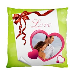 Love By Wood Johnson   Standard Cushion Case (two Sides)   Nqctzxvzr4qx   Www Artscow Com Front