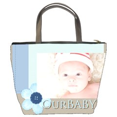 Our Baby By Joely   Bucket Bag   3dsbx63z22qh   Www Artscow Com Back