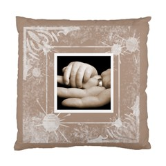 A Fathers Hand Double Sided Cushion By Catvinnat   Standard Cushion Case (two Sides)   2qds1c0m6g0w   Www Artscow Com Front