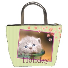 Holiday Of Pet By Joely   Bucket Bag   Xuxgkk6y8ie0   Www Artscow Com Back