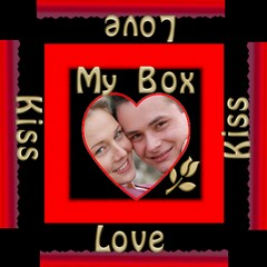 My Little Red Storage Box By Deborah   Storage Stool 12    Aw5i2x8774bf   Www Artscow Com Top