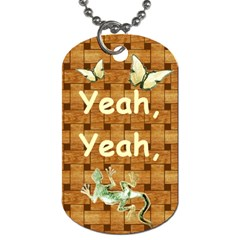 I ve Heard It     Kenneth #10 By R K  Felton   Dog Tag (two Sides)   3nq589br93u6   Www Artscow Com Front