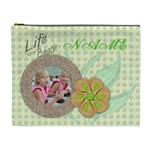 lifes a beach cosmetic bag - Cosmetic Bag (XL)