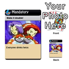 4chan By Adam   Multi Purpose Cards (rectangle)   J2yd4rucy3mg   Www Artscow Com Front 7