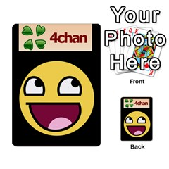 4chan By Adam   Multi Purpose Cards (rectangle)   J2yd4rucy3mg   Www Artscow Com Back 3