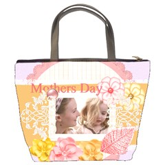 Mothers Day By Joely   Bucket Bag   0vgaghxvhof7   Www Artscow Com Back