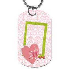 Katie Dog Tag (2 Sides) By Mikki   Dog Tag (two Sides)   Zbak4992jqx5   Www Artscow Com Back