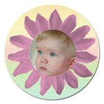 Cute as a daisy 1 Magnet - Magnet 5  (Round)