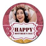 happy mothers day - Round Mousepad